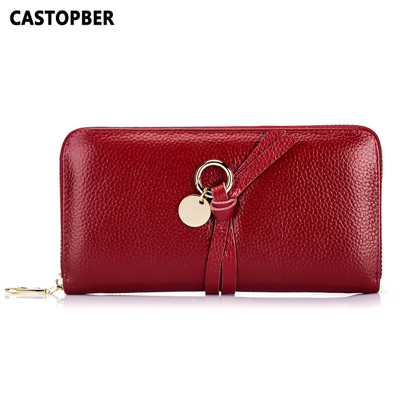 Fashion Wallet Women Luxury Brand Long Purse Designer Genuine Leather Cowhide Wallets Ladies Zipper Wallet Female Leather Clutch hot sale women wallets fashion genuine leather women wallet knitting zipper women s wallet long women clutch purse