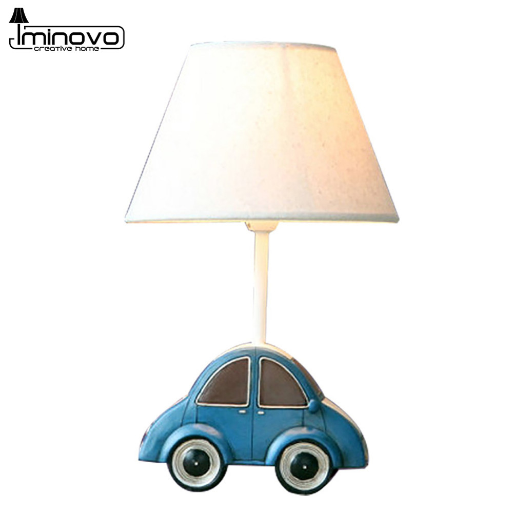 Aliexpress buy iminovo table lamp e14 bulbs dimmable bedside aliexpress buy iminovo table lamp e14 bulbs dimmable bedside lamp cute blue car lighting desk lamps for living room home decoration from reliable geotapseo Choice Image