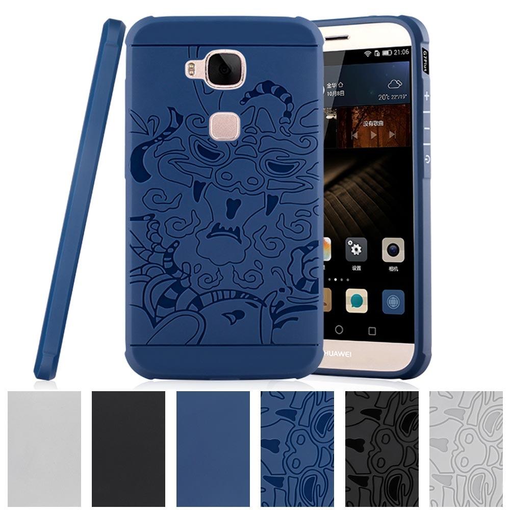 for Huawei G8 G 8 Rio GX8 GX 8 X8 G7 Plus G 7 7Plus G7Plus Relief Case Phone Back Cover Rio-UL00 Rio-L11 l11 ul00 TPU Soft Case