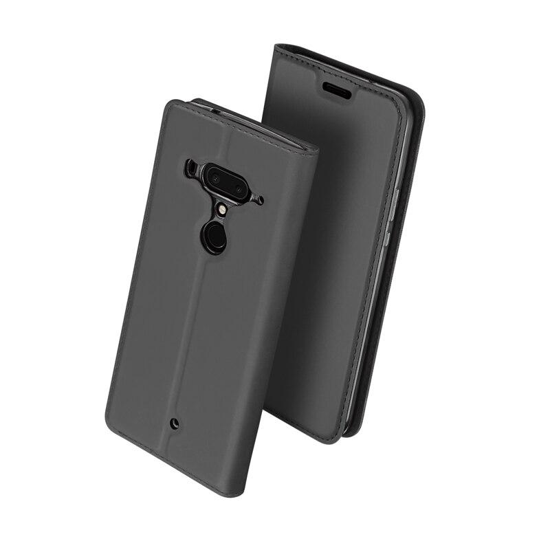 Für HTC U12 Plus Fall Für HTC U12 + Fall Luxus Leder Brieftasche Karte Slot Telefon Fällen Für HTC U12 plus Zurück Abdeckung Coque