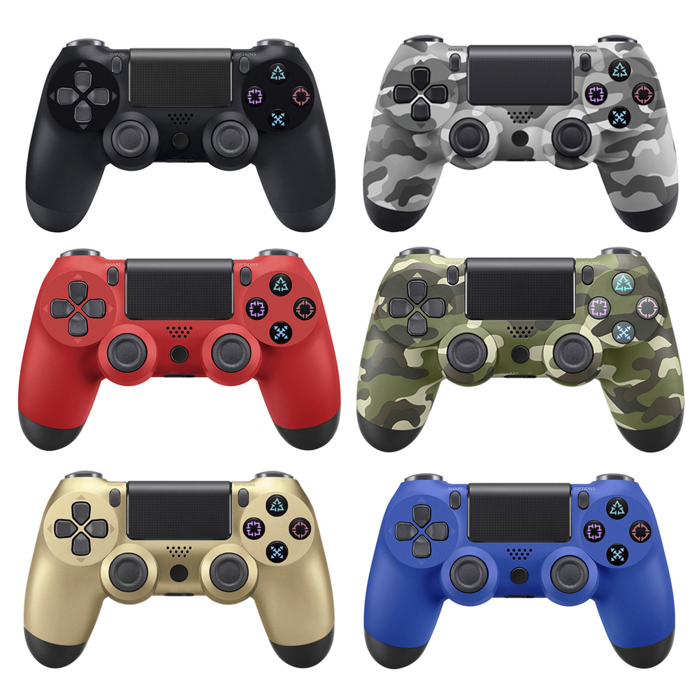 For PS4 Game Controller New Wired Gamepad Controller Joystick Gamepads with 2m Cable For PlayStation 4 usb wired game pad gamepad controller for xbox 360 white