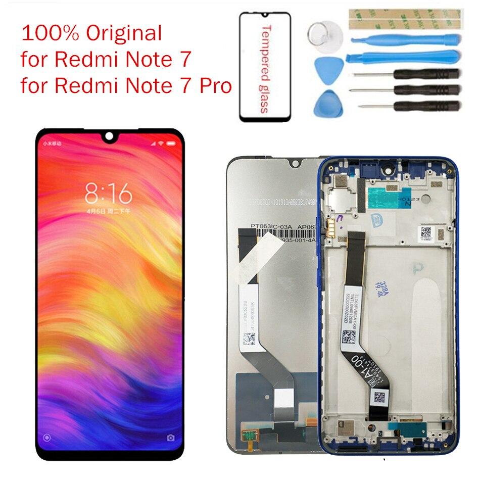 HTB1RVHXX3KG3KVjSZFLq6yMvXXap Original for Xiaomi Redmi Note 7 LCD Display Screen Touch Digitizer Assembly Redmi Note7 Pro LCD Display 10 Touch Repair Parts
