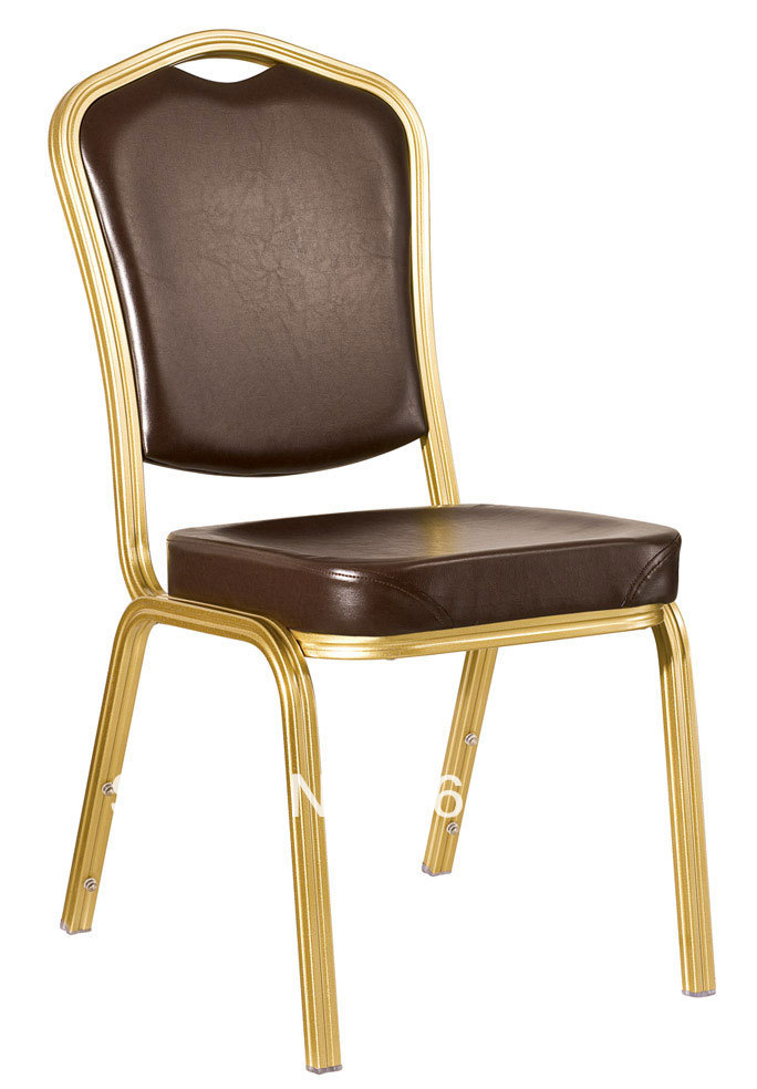 Stacking Vinyl Aluminum Banquet Chair