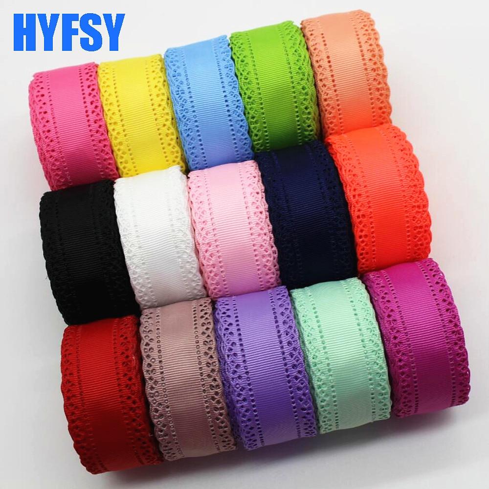 Hyfsy мм 10074 30 мм кружевная лента 10 ярдов рукоделие Подарочная упаковка головные уборы ручной работы материалы ручная работа лента корсажные ленты