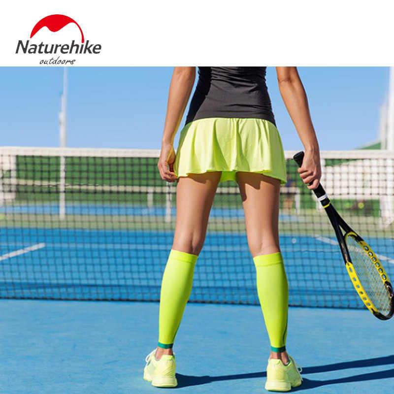 Naturehike NH17H003-M Bezszwowe legginsy mocno łydki wsparcie rower piłka nożna do biegania tenis rower fitness ciśnienie getry mężczyźni kobiety