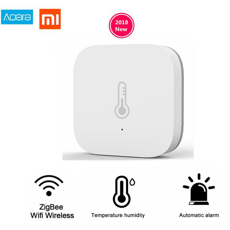 Xiaomi Aqara Temperature & Humidity Sensor Thermometer Hygrometer Atmos Version For Baby Care Support IFTTT Gateway Mi Home App