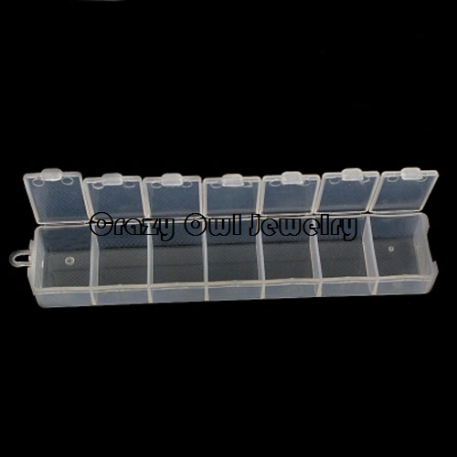 Wholesale 4pclot 7 Slots DIY Hanging Jewelry Organizer And