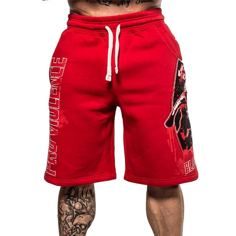 2019 New Fashion Casual Men Gyms Cotton Camouflage Shorts With Pockets Bodybuilding Clothing Fitness Walking Workout Jogger