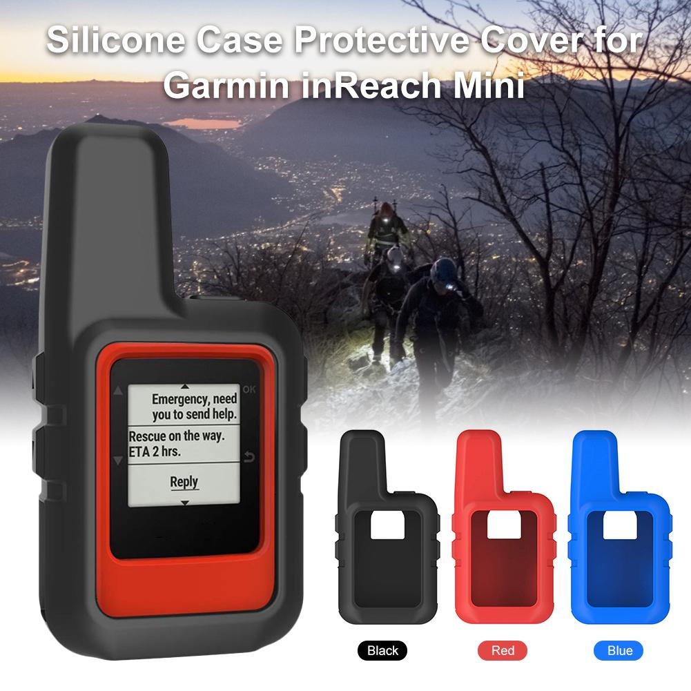 2019 New High Quality Protective Cover Soft Silicone Sleeve Skin Case Accessories Waterproof For Garmin InReach Mini 3 Colors in Smart Accessories from Consumer Electronics