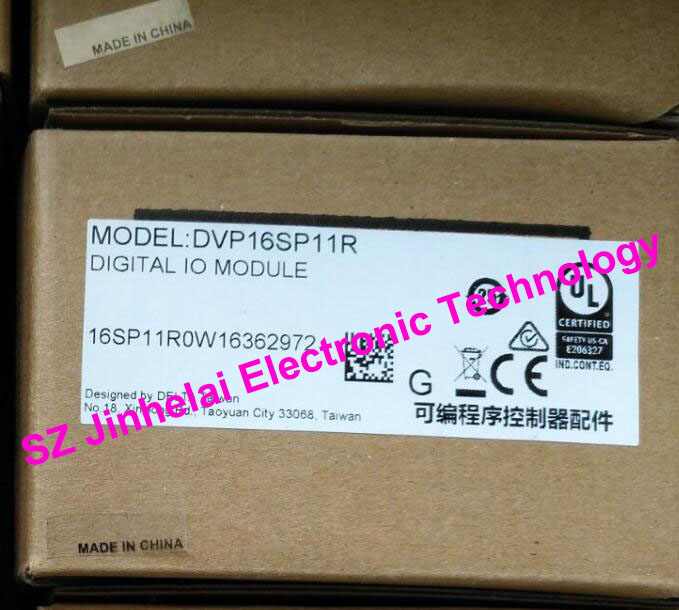 New and original DVP16SP11R  Delta  PLC , power input: 24VDC 2W ,output module: 1.5A 250VAC  50/60Hz original imported module input and output terminals plc control module el2809