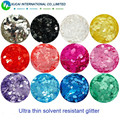 12 Round Circle dot Shape Ultra Thin Neon and Pearlescent Colors for  Nail and  Art DIY decora Size :3MM 1Pack=12*10g=120g