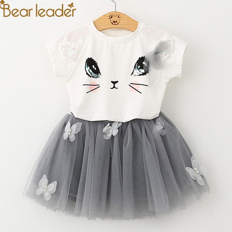 Juegos de ropa para niñas líderes del oso 2018 Marca Ropa de niña - Ropa de ninos