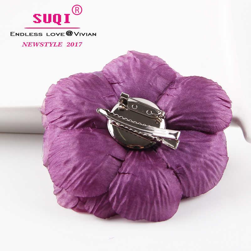 Moda Fiore di Peonia Spilla Clip di Capelli FAI DA TE Accessori Per Capelli Copricapo Per La Sposa di Cerimonia Nuziale di Trasporto Libero