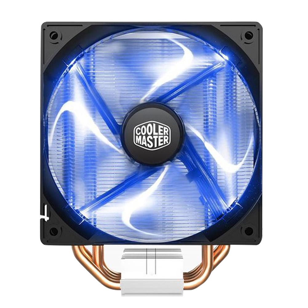 NICE com Silent 4 Heatpipes CPU Air Cooler Temperature Control <font><b>120mm</b></font> <font><b>PWM</b></font> Cooling <font><b>Fan</b></font> image