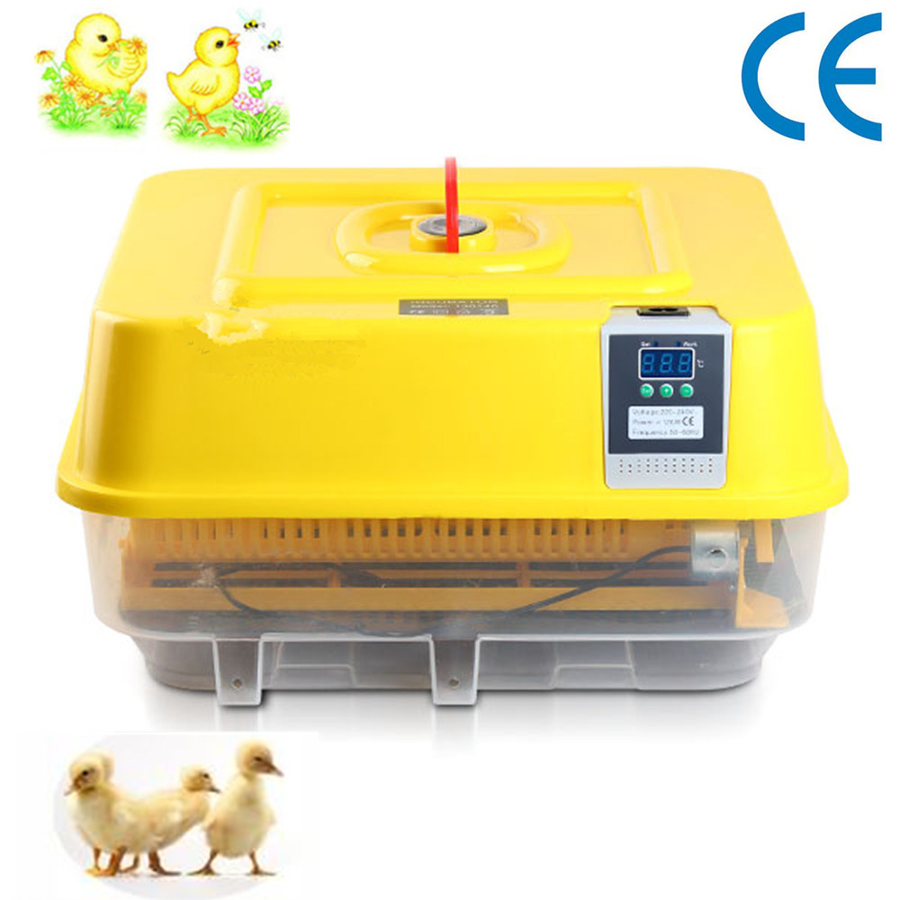 Hot Sale Fully Automatic Egg Incubator For Hatching 48 Chicken Duck Poultry Eggs Mini Industrial Brooder Hatchery Machine small chicken poultry hatchery machines 48 automatic egg incubator 220v hatching for sale