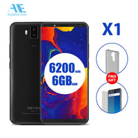 Vernee X1 6G RAM 64G ROM 5.99inch 18:9 FHD+ Screen Mobile Phone MT6763 Octa core Face ID Cell Phone Four Camera 4G Smartphone