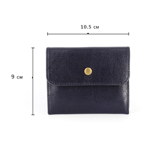 Image 4 - AETOO Handmade Coin Purse Headband Vegetable Tanned Leather Coins Pack Men & Women Retro Mini Leather Card Pack Small Wallet Tid