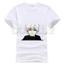 2019 anime Cotton Tokyo Ghoul Kaneki Ken funny t shirts oggai / Sasaki men tshirts fashions Mens Clothing