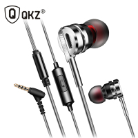 Earphone QKZ DM9 Zinc Alloy HiFi Earphone In Ear Earphones Fone De Ouvido BASS Metal DJ