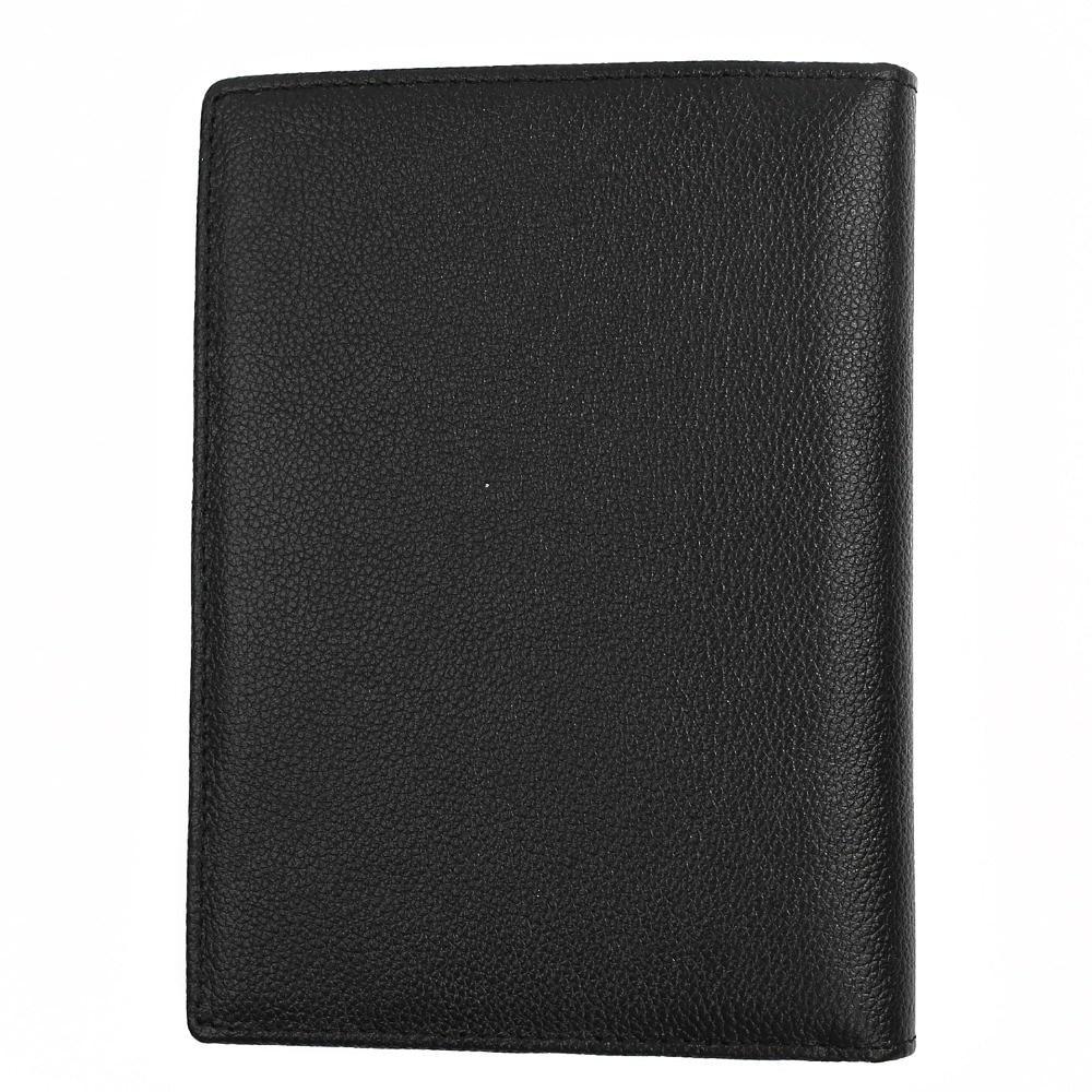 rfid bloqueio carteira de couro Color : Black