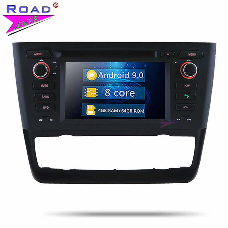 Roadlover Android 9 0 PC DVD плеер для BMW 1 серии E81 E82 E88 Авто 2004 Стерео gps навигация авто радио