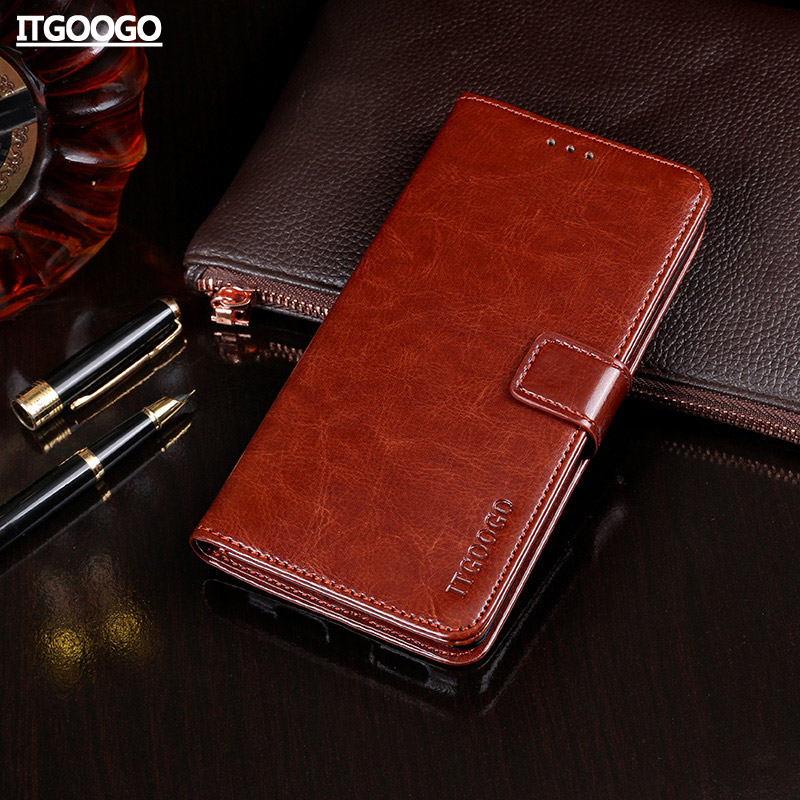 Case For Nokia 7 Plus Case Cover High Quality Flip Leather Case For Nokia 3 5 6 8 2 7 X6 2018 Cover Capa Phone bag Wallet Case
