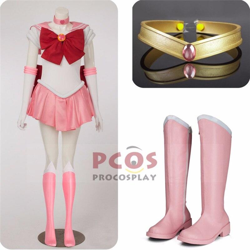 Mejor Precio conjunto   Sailor Moon chibi Usa Sailor chibi Moon Cosplay disfraz y sombreros y botas mp000272