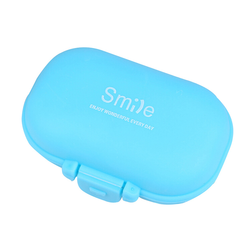 4 отсека таблетки чехол для хранения практические Pill Box Vogue медицины коробка ювелирных изделий контейнер