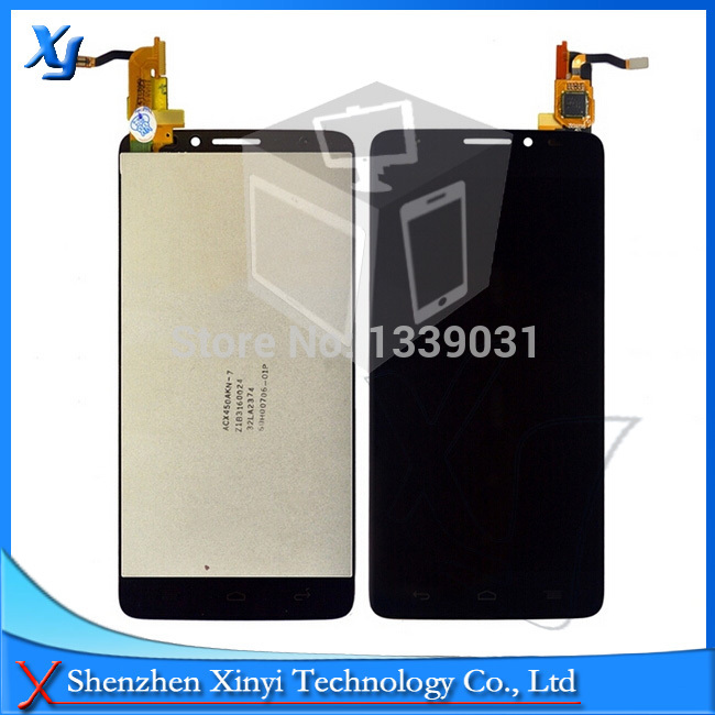 Free Shipping LCD screen + touch FOR Alcatel One Touch Idol X OT6040 6040 6040D 6040E 6040A OT-6040D 100% new Original tested