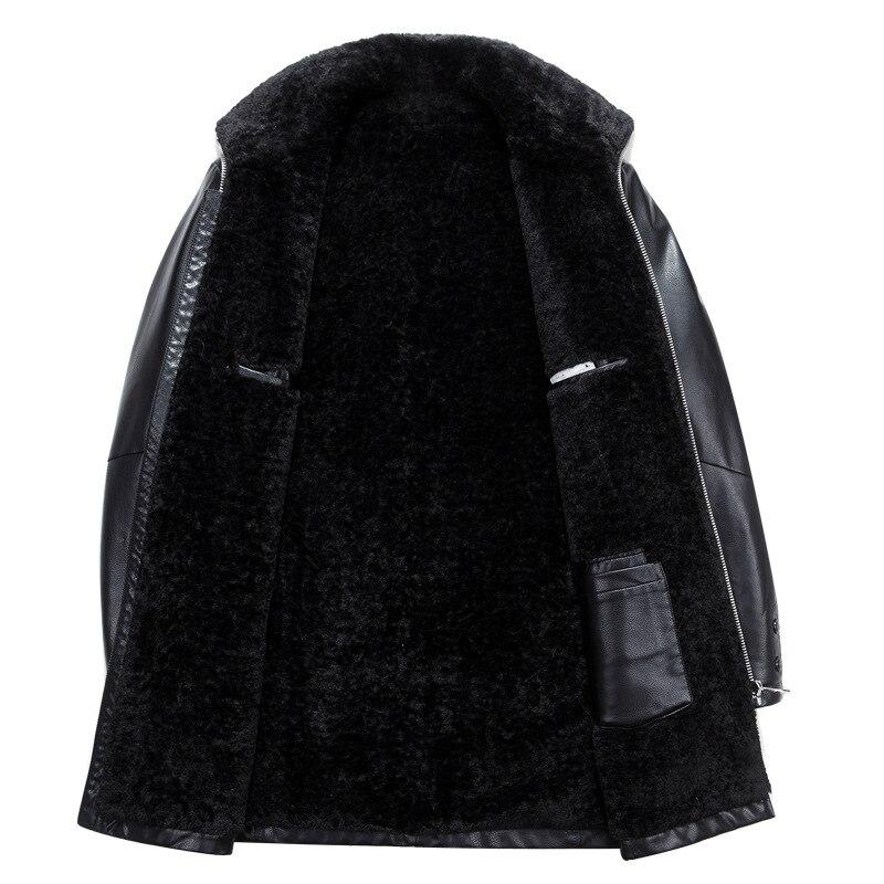 Весенние мужские брюки Роскошные композитные ткани толстые черные брюки мужские размера плюс 4xl эластичный пояс повседневные мужские брюк... - 3