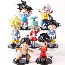 Dragon Ball Z Son Goku Goten Badehose Upa Bulla Jugend Ver. PVC Dragonball Action-figuren Zum Sammeln Modell Spielzeug 7 teile/satz
