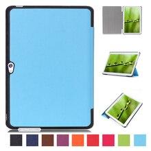 "Para Huawei MediaPad M2 10.0 ""m2-a01l/m2-a01m/m2-a01w premium utra thin soporte plegable smart sleep pu leather case cubierta de piel"