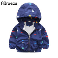 2017 New Spring Summer Children Jackets Casual Hooded Kids Outerwear Coats 1 7T Windbreaker Style Jackets