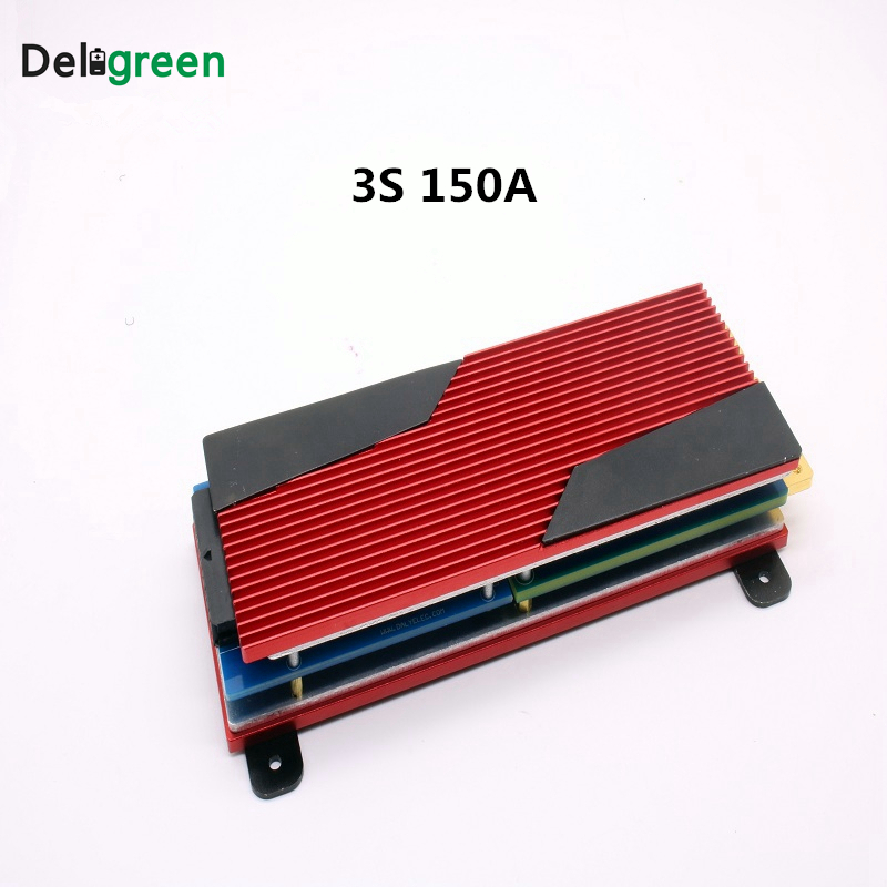 Здесь продается  Deligreen 3S 150A 12V PCM/PCB/BMS for Li-po battery pack 18650  Rated 3.7V Lithion Ion Battery Pack  Бытовая электроника