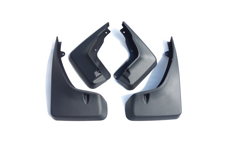 For LAND ROVER Freelander 2 2008 2015 Exterior Car Styling End Pipe Mud Flaps Guard Cover