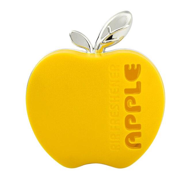 Orange Lemon Apple Strawberry Lavender Hot Selling Car Perfume Air Freshener Original Fragrance Car Accessories Apple Shape #HP