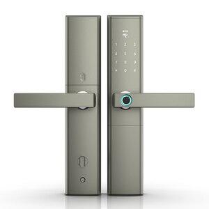 Image 4 - Keyless serrure intelligente à empreintes digitales, serrure de porte électronique et biométrique intelligente
