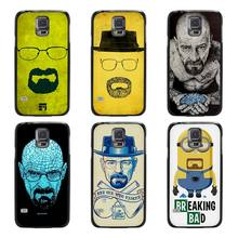 Breaking Bad Chemistry Walter Black Case Cover Scrub Shell Coque for Samsung Galaxy S3 S4 S5 Mini S6 S7 Edge Plus