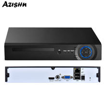 AZISHN 8CH/16CH/32CH H.265/H.264 Security Network Video Recorder Support 4MP 5MP 1080P ONVIF HDMI VGA FTP 3G CCTV NVR for IP Cam