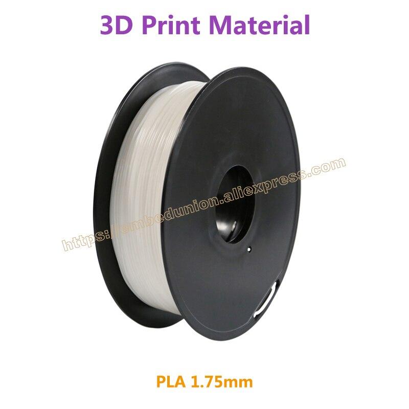 3D Printer Filament PLA 1.75mm 3D Printing Materials 1KG Plastic Rubber Consumables Material pla 1 75mm filament 1kg printing materials colorful for 3d printer extruder pen rainbow plastic accessories black white red gray