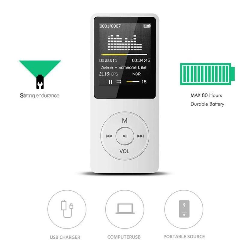 Hiperdeal Mini 2018 Fashion Portable MP3 Player LCD Screen FM Radio Video Games Movie Dropshipping Jun 26