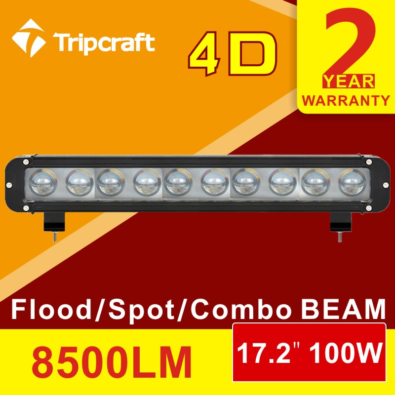 Car styling 4D Cree Chip 100W 17inch LED Light Bar Offroad 24V Driving Work Lamp for Truck SUV ATV 4x4 4WD Spot/Flood/Combo Beam free shipping 1 2 inch port pneumatic angle seat piston valve dn15 2 way stainless steel