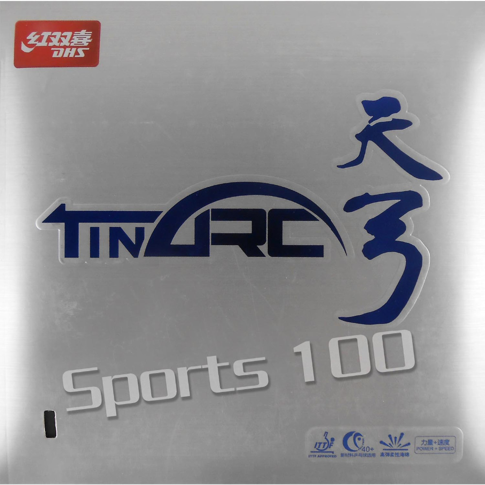 DHS TinArc Tin Arc Pips In Table Tennis Rubber With High Elastic Flexibility Cake Sponge