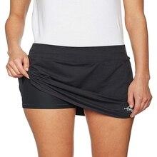 Теннис Гольф тренировки Спорт Йога Бег шорты юбка размера плюс юбки карандаш Женская спортивная легкая юбка с карманом