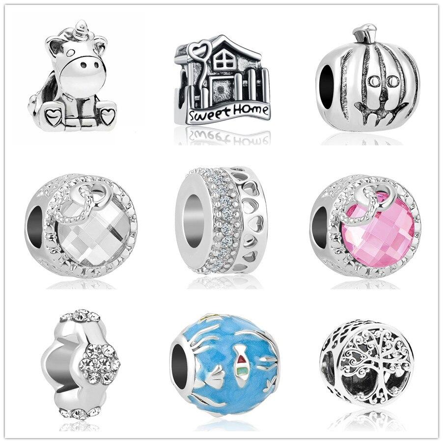 Calvas 10pcs//Lot Mixed Murano Glass Beads European Charm Bead Fit DIY Charms Bracelets for Women Brand Bracelet Color: Sky Blue, Item Diameter: 11MM