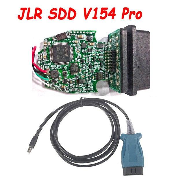 Nuovo JLR SDD PRO V154 per Jaguar e Land Rover 2005 2016 Anni Via La OBD2 16PIN a USB cavo diagnostico di Sostegno PUÒ ISO9141 Auto