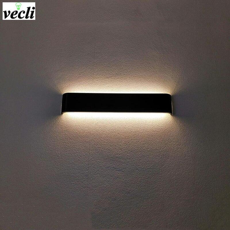 US $10.55 40% OFF|Moderne Led aluminium wandleuchte badezimmer spiegel  beleuchtung wandleuchte schlafzimmer wohnzimmer leuchte lamparas de pared  ...