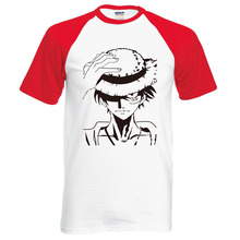 One Piece Anime Monkey D Luffy Casual Summer Men's T-Shirt