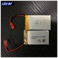 2 pcs Original 3.7 V 1000 mah 25C Li-po bateria para DM006 DM006HW rc zangão