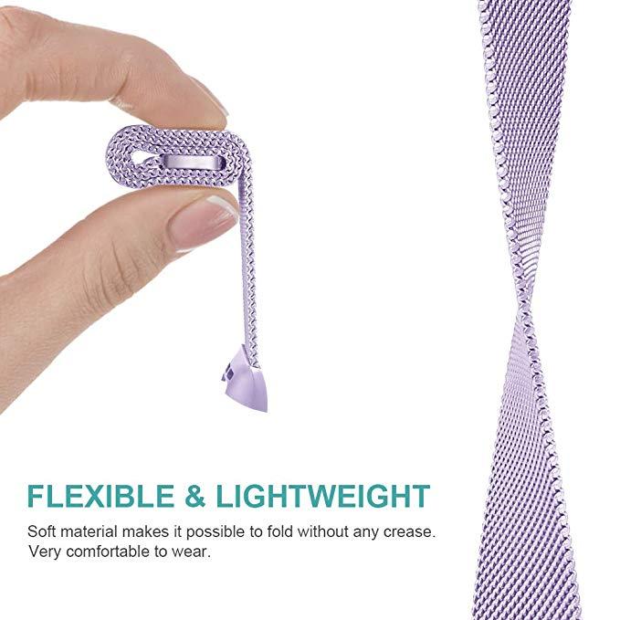S/L Metal magnético de la correa de muñeca banda para Fitbit carga 3 pulsera Milanese de acero inoxidable para reemplazar Fitbit Charge3